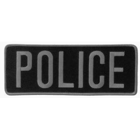 POLICE Officer Large Uniform BACK PATCH Badge Emblem Insignia 11