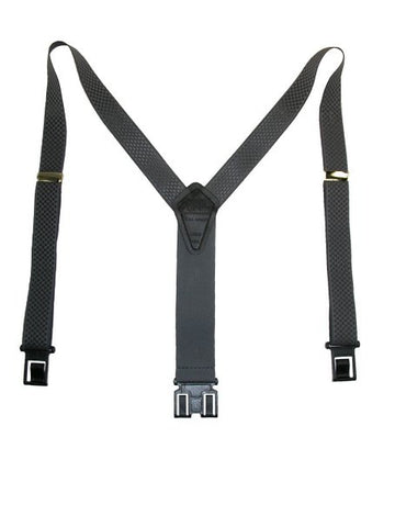 Premium Dress Perry Suspenders (Gray Regular)