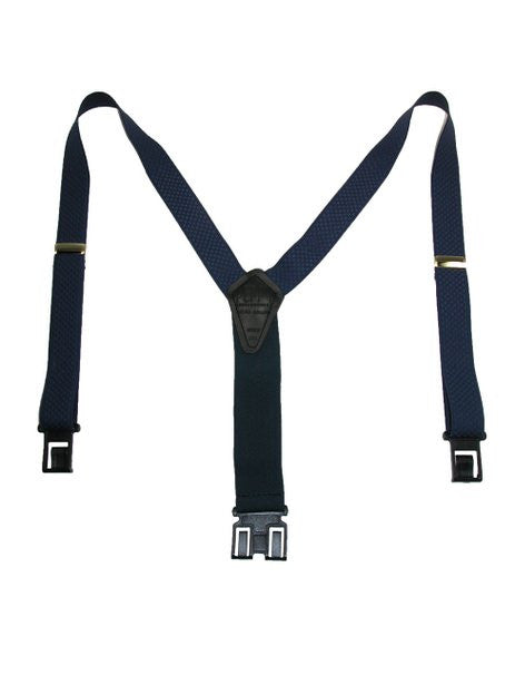 Premium Dress Perry Suspenders (Navy Tall)