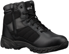 "Smith & Wesson® Footwear Breach 2.0 Men's Tactical Side-Zip - 6"" Black"