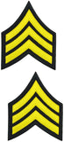 Tactical 365® Operation First Response Pair of Sergeant Rank Uniform Chevron Emblem Patches