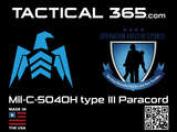 Operation First Response 100 Continuous Feet Mil-C-5040H Type III 550 MIL-SPEC Paracord