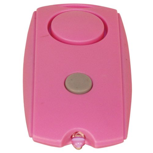Personal Panic Alarm Fast Activation Pink