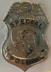 HWC 200 Series Special Police Officer - Nickel