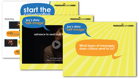 Start the Conversation { Presentation Kit }