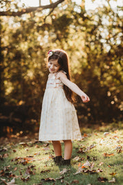 Mini Nikki Cream lurex dress - aryanaclothing
