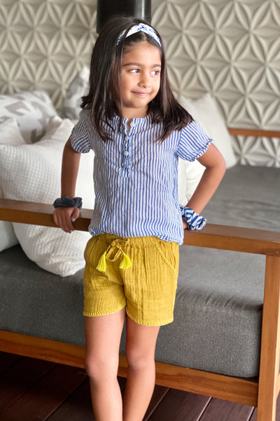 Goldie Girls Shorts - aryanaclothing