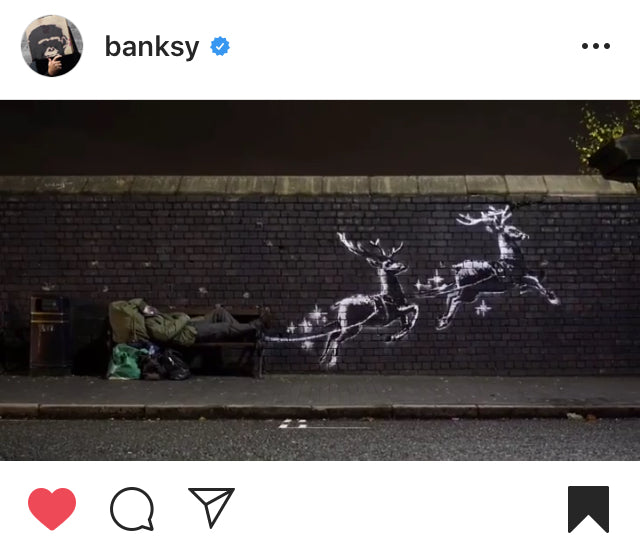 Banksy in Birmingham's Jewellery Quarter