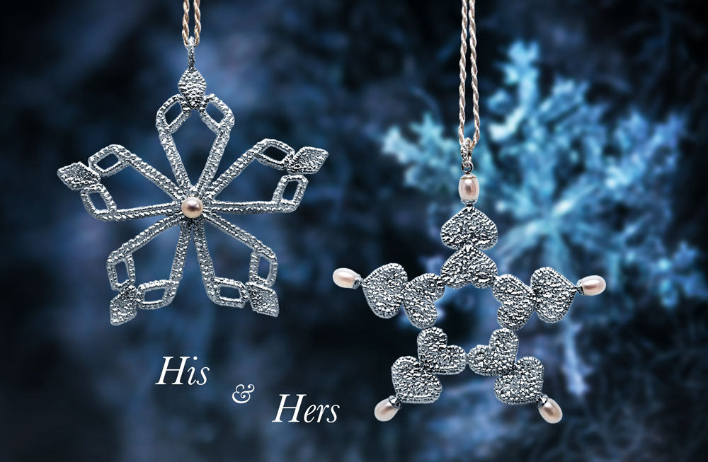 Luxury Snowflakes Christmas Decorations