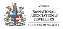 Ruth Mary, member of The National Association of Jewellers