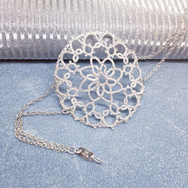 Tatted lace jewelry