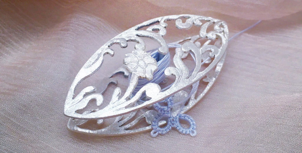 Silver Tatting Shuttle