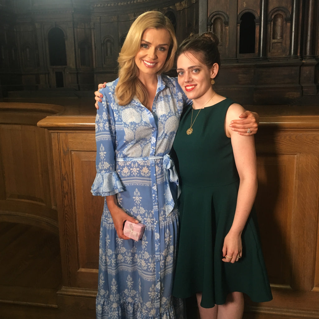 Katherine Jenkins with Ruth Mary Chipperfield