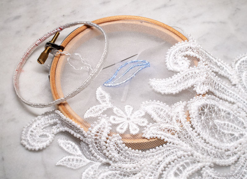Bridal Lace Embroidery
