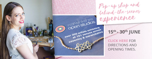 Ruth Mary Jewellery at Warwickshire Open Studios