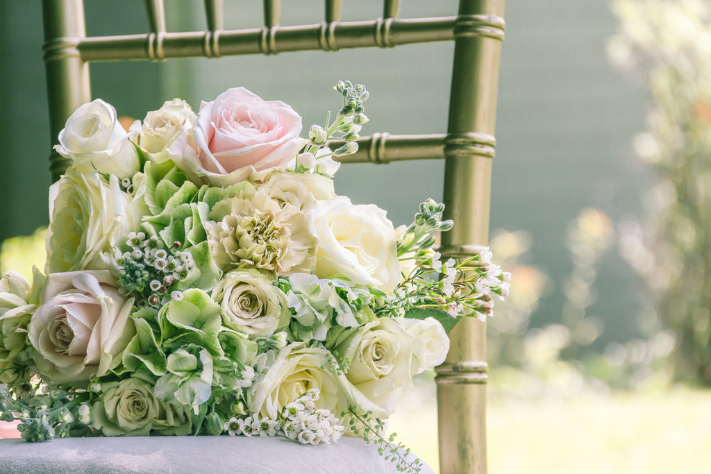 Sussex Garden Wedding Bouquet