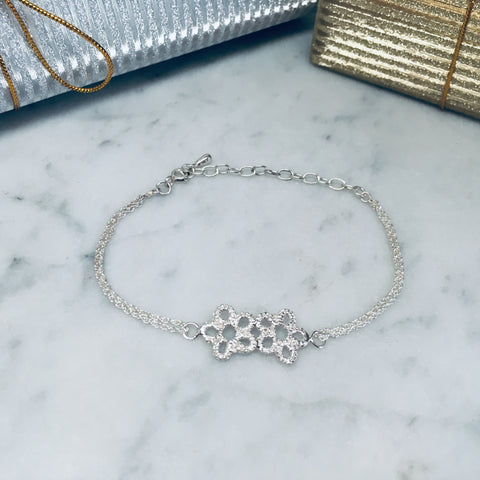 Early Edition Forget-Me-Not Bracelet