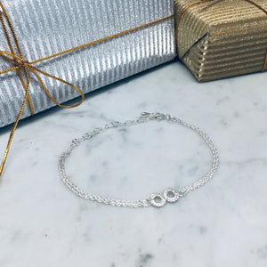 Early Edition Infinity Bracelet