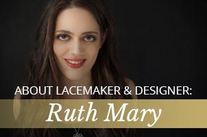 Artisan lace maker and jewellery designer Ruth Mary