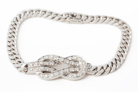 Nautical Knot Diamond Bracelet