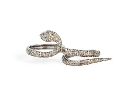 Two Finger Serpent Ring