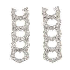 Horseshoe Diamond Earrings