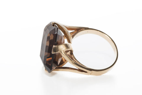 Smokey Quartz Cocktail Ring