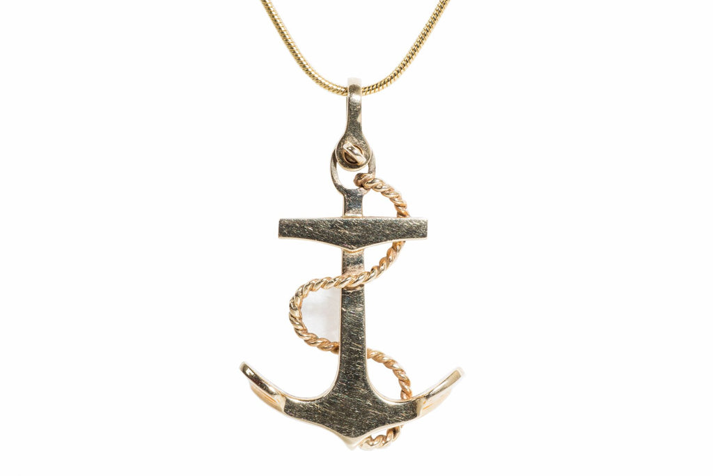 Danish Anchor Pendant
