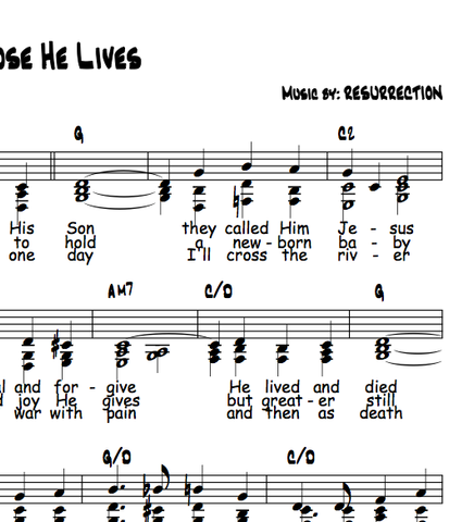 Blessed Assurance lyrics chords Bill Anderson - oukas info