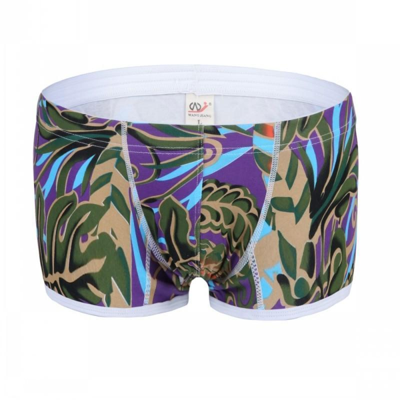 Men's underwear cotton printed boxer
