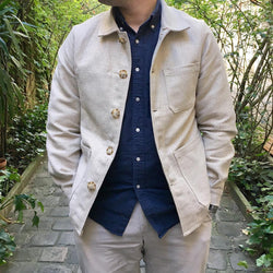 Men's Simple Solid Color Lapel Jacket
