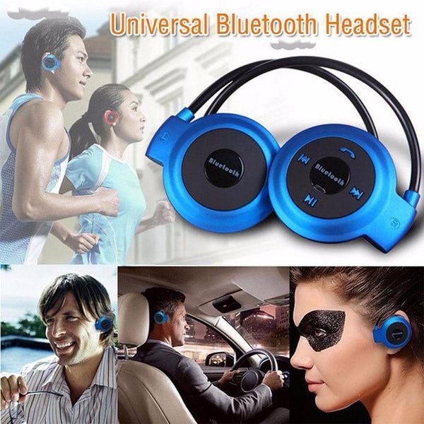 Mini 503 Wireless Bluetooth Stereo Headphones Portable Neckband Headset