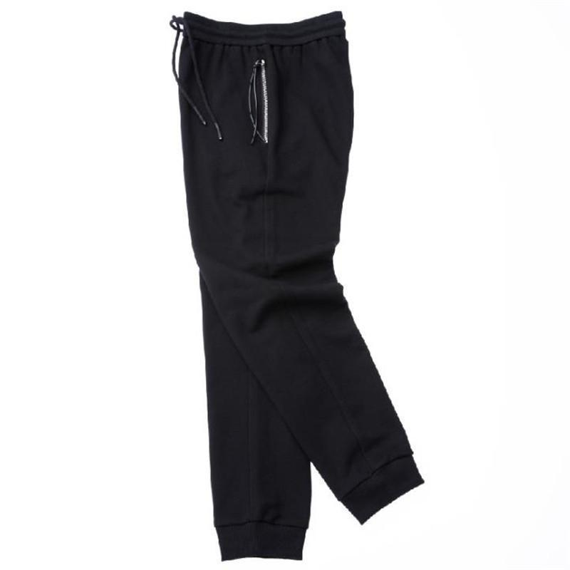 Fashion Casual Youth Sport Loose Plain Long Pants