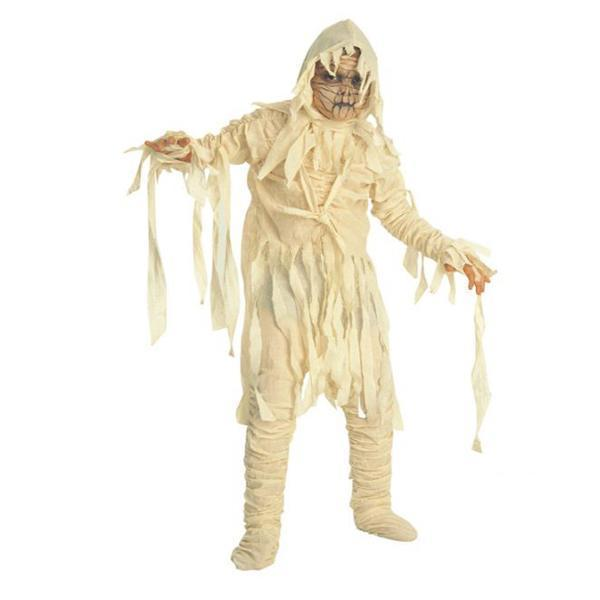 Halloween Fashion Mens Terrible Mummy Plain Costume
