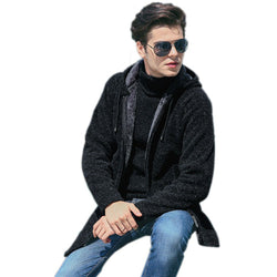 Fashion Keep Warm Winter Knit Thick Coat