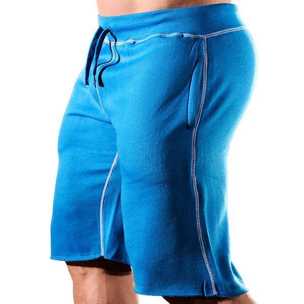 Sports Fashion Solid Color Loose Training Shorts