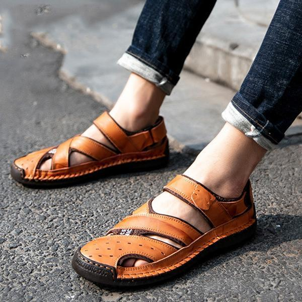 Men's Casual Baotou Soft Bottom Non-Slip Sandals