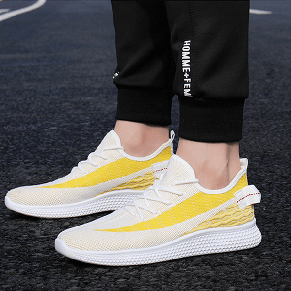 Men's Fashion Versatile   Breathable Lightweight Sneakers