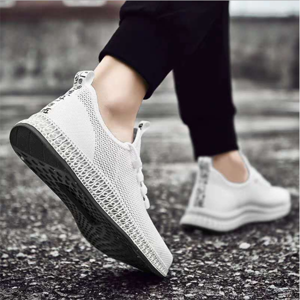 Men's Mesh Casual Breathable Flying Weaving Sneakers