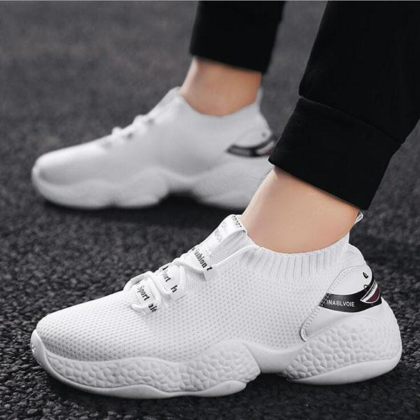 Men's Breathable Mesh Sports And Leisure Running Shoes