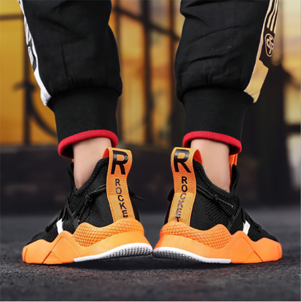 Men's Trend Mesh Breathable Flying Weaving Sneakers