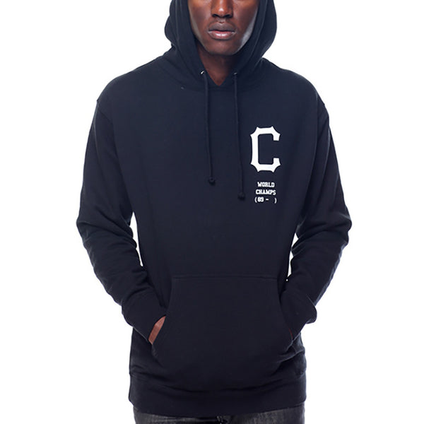 Casual Men's Letter Printed Loose Hooded Sweatshirt