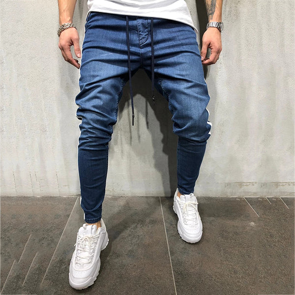 Casual Sports Personality Side Seam Pants