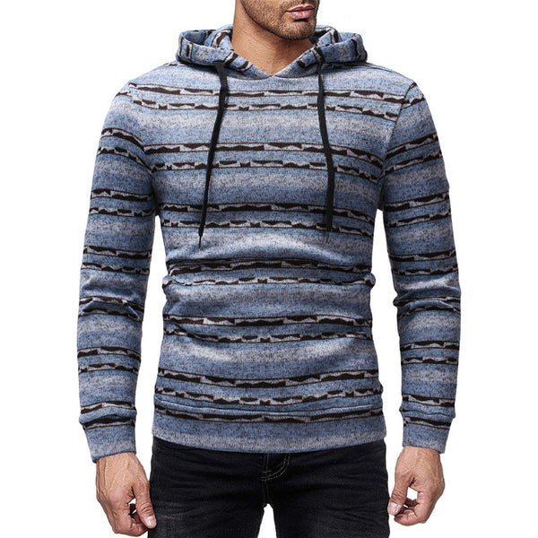 Casual Pullover Men's Hooded Sweater