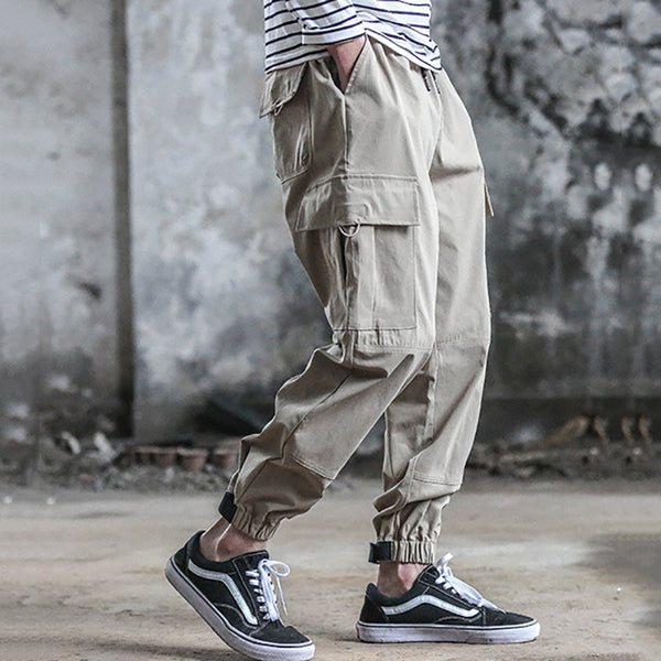 Street Fashion Casual Loose Tooling Pants