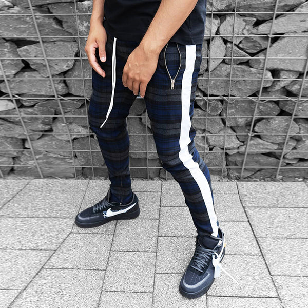 New Checkered Casual Pants