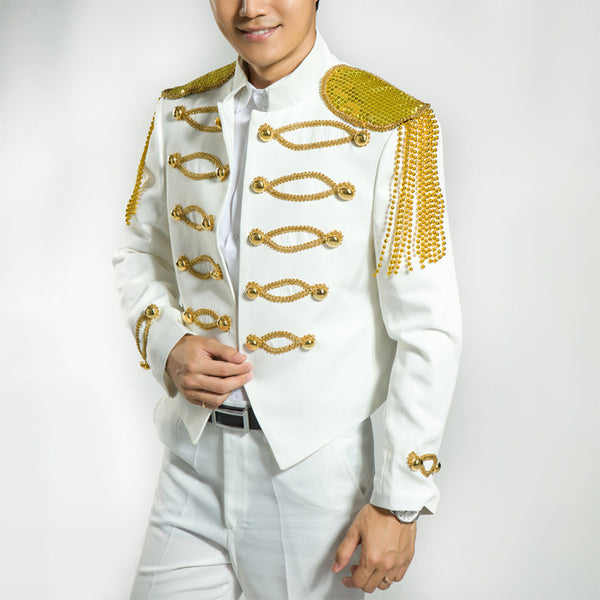 Moderator's White Suit Costume Jacket