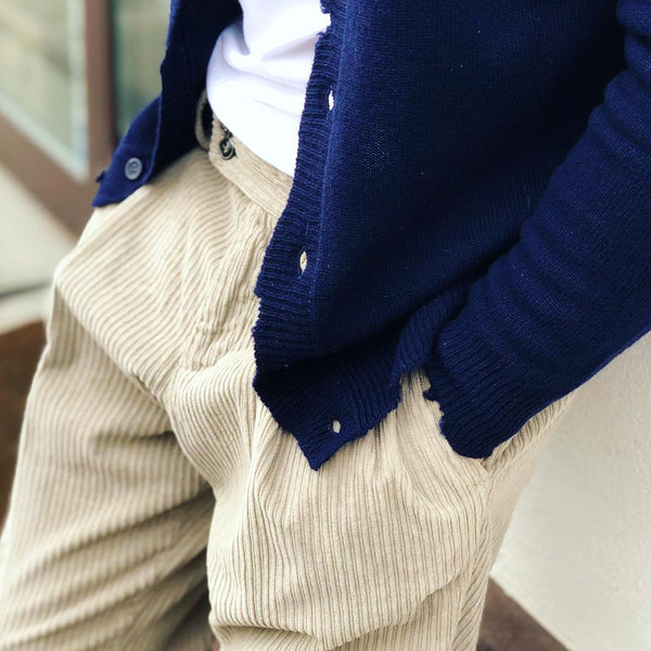 Men's Casual Solid Color Long Sleeve Knit Cardigan