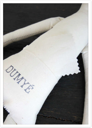 Each Dumyé doll comes with a Purpose Pocket, where you can leave a meaningful message.