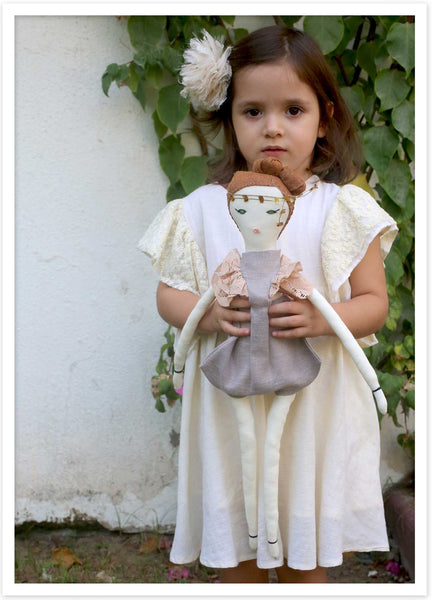 Anarvus is a beautiful designer doll inspired by a princess warrior for peace.